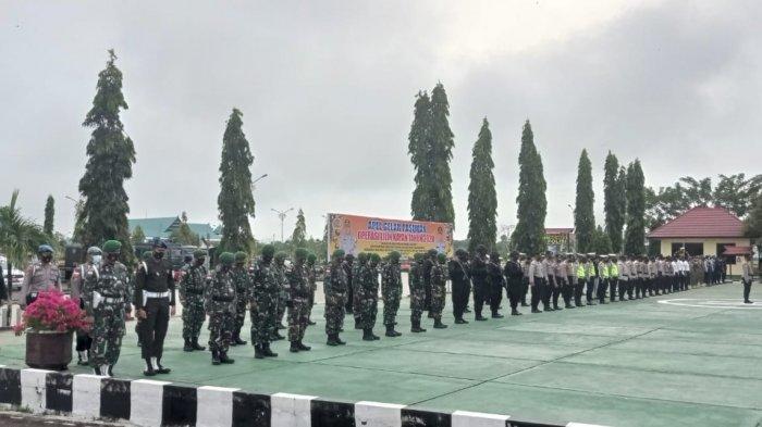 Ratusan Personel TNI-Polri Jaga Rumah Ibadah, Polisi Jamin Keamanan Jelang Minggu Paskah di Malinau