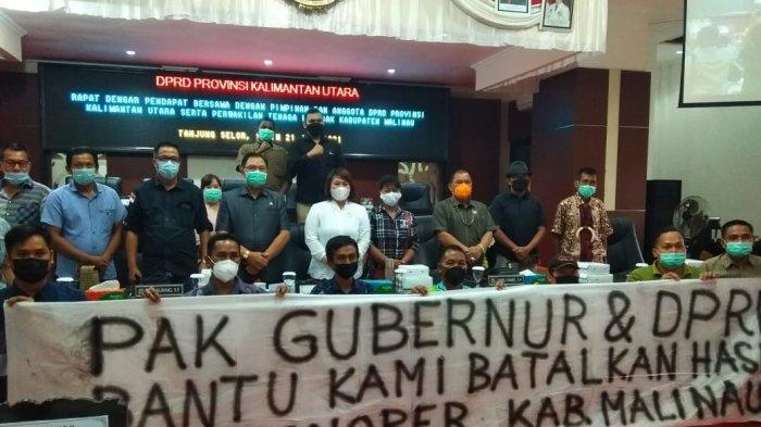 477 Orang Diberhentikan Pemkab Malinau, Perwakilan Pekerja Honorer Mengadu Nasib ke DPRD Kaltara