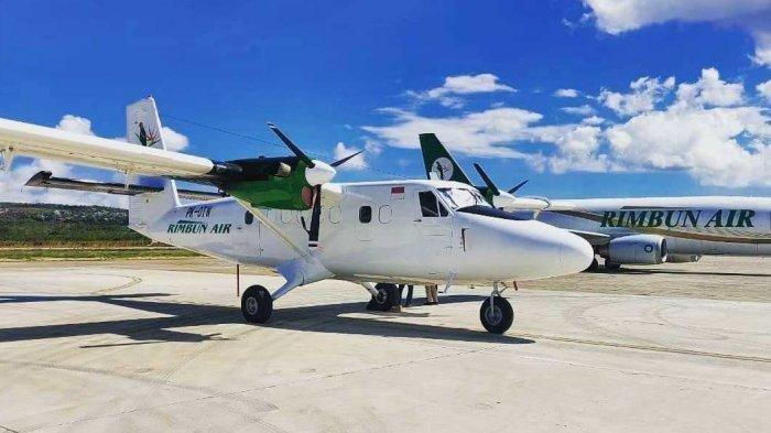 Pesawat Rimbun Air PK OTW yang terbang menuju Bandara Bilogai Sugapa, Intan Jaya, Papua dinyatakan hilang kontak sekitar pukul 07.10 WIT, Rabu (15/9/2021).