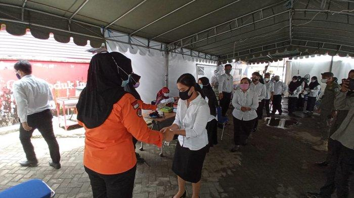 Hari Ke 2 Pelaksanaan SKD CPNS Kaltara 2021 Berjalan Lancar, Peserta Positif Covid-19 Dijadwal Ulang
