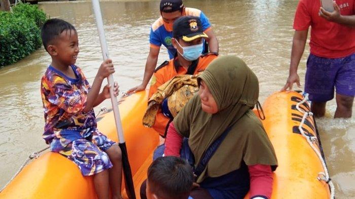 Banjir Tanjung Palas Mulai Surut, Kades Wonomulyo Sebut Tanaman Petani Terancam Gagal Panen