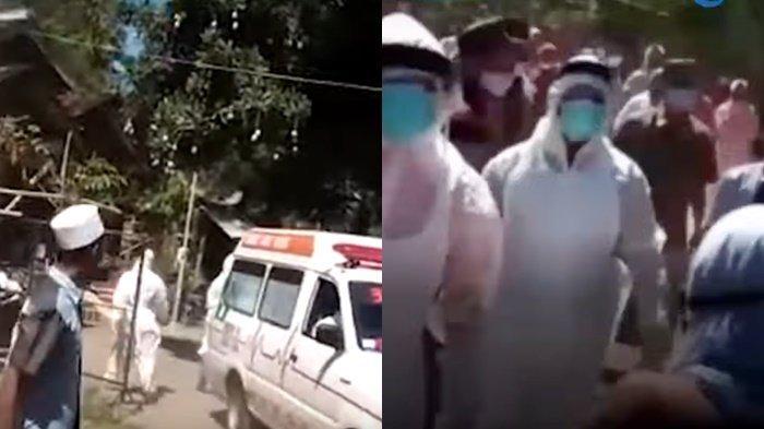 Detik-detik Warga Mengamuk Lempari Petugas Medis dan Ambulans, Rebut Paksa Jenazah Reaktif Covid-19