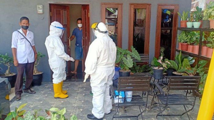 Stigma Negatif Corona Masih Ada, Satgas Covid-19 Kelurahan di Berau Kunjungi Pasien Isolasi Mandiri