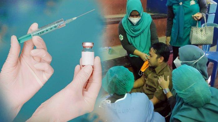 ASN di Pemkot Samarinda Alami Hal Tak Terduga, Lemas Tak Sadarkan Diri usai Suntik Vaksin Covid-19