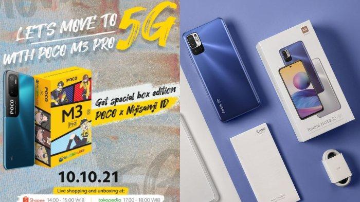 Redmi Note 10 5G dan Poco M3 Pro 5G Turun Harga, Begini Perbedaan Spesifikasi Keduanya
