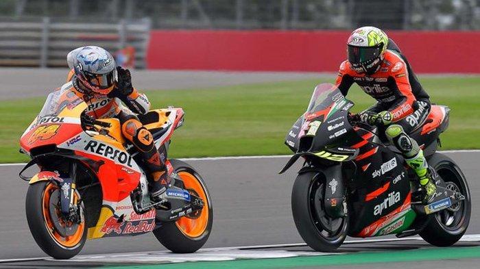 MotoGP Inggris 2021, Detik-detik Aleix Espargaro Murka pada Pol Espargaro jelang Kualifikasi