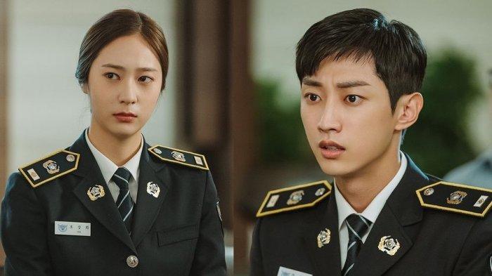 Police University: Oh Kang Hee dan Kang Sun Ho.