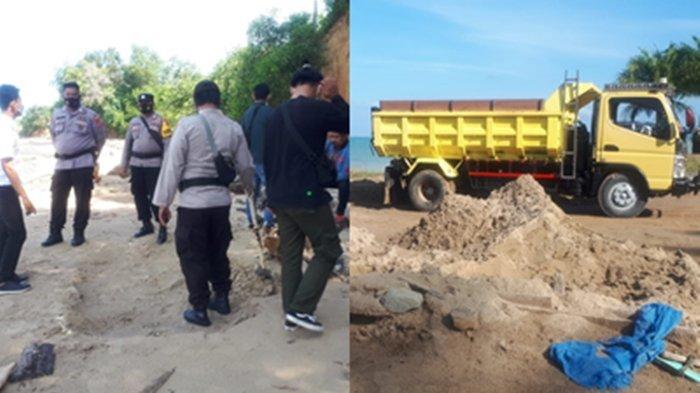 Pulau Sebatik Abrasi, Polres Nunukan Gelar Penyelidikan Tambang Pasir Ilegal, 14 Rumah Rusak & ini