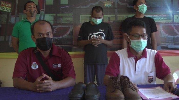 Nekat Congkel Toko untuk Curi Sepatu, Pria Residivis di Tarakan Kaltara Diciduk Polisi