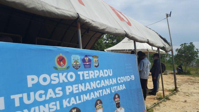 Tanpa Sertifikat Vaksin, Pengendara Masuk di Tanjung Selor Provinsi Kaltara Diperbolehkan Melintas