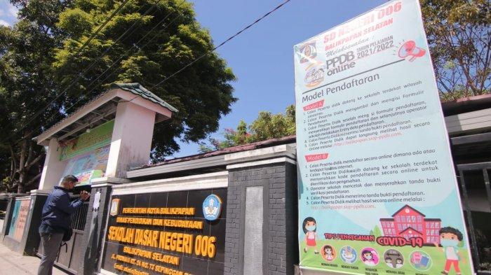 Sudah Divaksin Covid-19, Guru Hingga Kepsek SDN 006 Balikpapan Selatan Terpapar Corona, PPDB Stop?