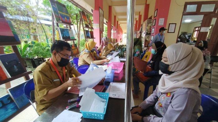 Aktivitas di salah satu SMP  Kota Tarakan.