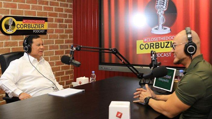 Bisa Bikin Prabowo Tertawa Lepas, Sosok Ini Bongkar Suasana Sebenarnya di Podcast Deddy Corbuzier