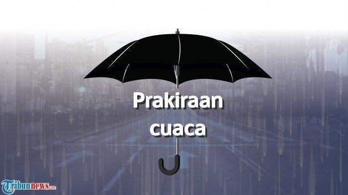 Prakiraan cuaca Sabtu (Tribunnews.com)