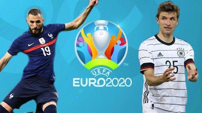 Jadwal Euro 2020, Prancis vs Jerman, Deschamps Dipusingkan Kemelut Giroud dan Mbappe