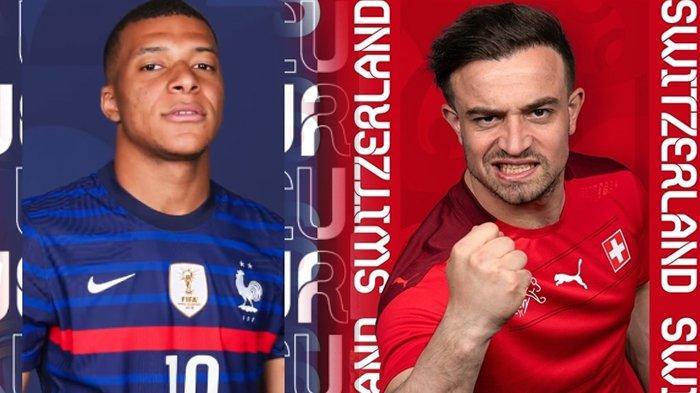 Head to Head Prancis vs Swiss, Les Blues Tak Bisa Terlalu Percaya Diri, Tayang Pukul 02.00 Wib