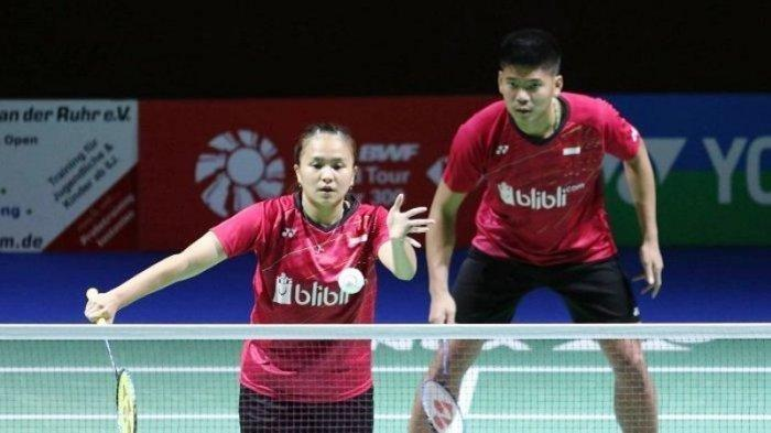 Hasil Olimpiade Tokyo 2020: Praveen/Melati Kalah dari Wakil China, Gagal Lolos ke Semifinal