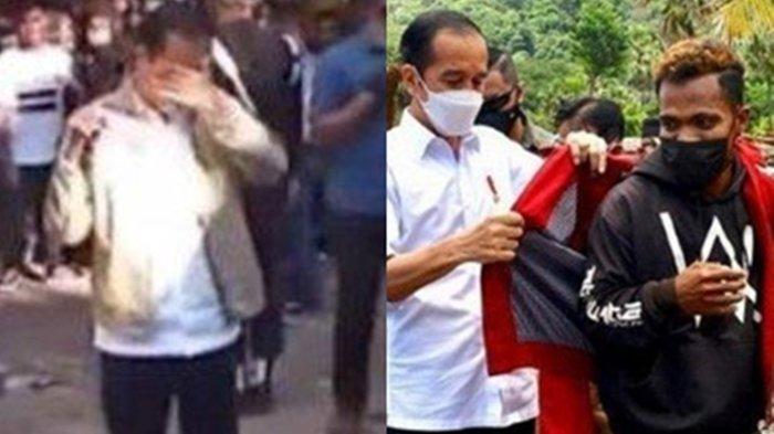 Nangis, Dikejar Bocah & Beri Jaket Terjadi saat Jokowi Kunjungi Adonara NTT, Emak-emak Sampai Begini