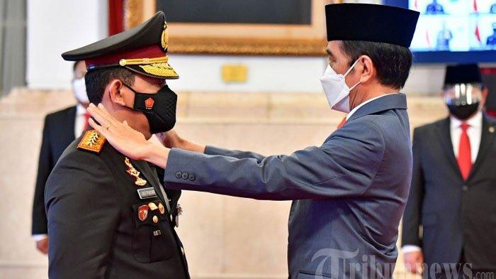 Kena Tegur Jokowi, Kapolri Jenderal Listyo Sigit Bereaksi, Berikan Perintah Khusus ke Anak Buahnya