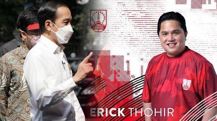 Kelakar Jokowi Ngobrol dengan Warga Maluku, Singgung Erick Thohir Beli Persis Solo Bareng Kaesang