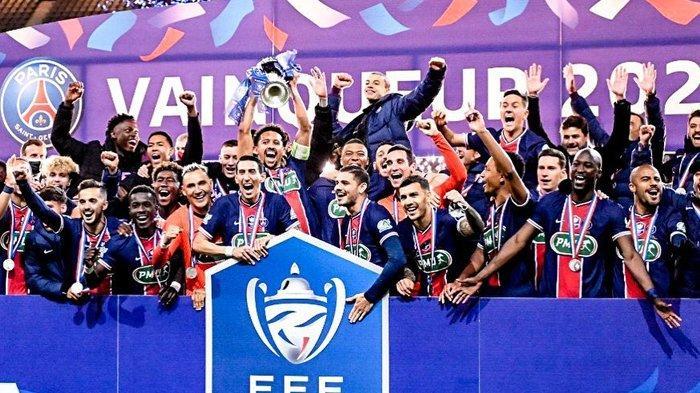Dominasi PSG Mirip Juventus, Raih Juara Coupe de France Berkat Kemenangan atas AS Monaco