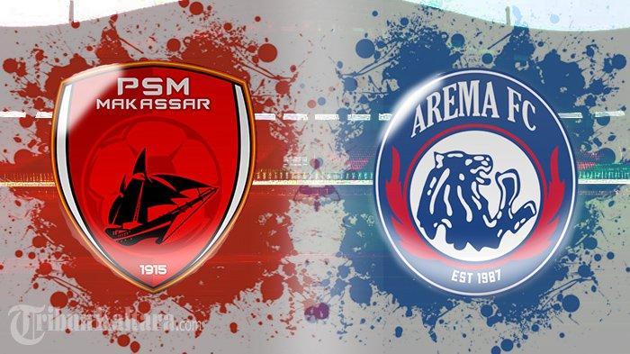 BERLANGSUNG Live Streaming PSM vs Arema FC, Main 10 Pemain, Singo Edan Unggul Lebih Dulu Skor 1-1