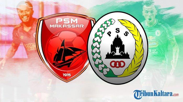 Prediksi Susunan Pemain PSM vs PS Sleman, Gelar Hiburan Piala Menpora 2021 Live Streaming 20.30 Wib