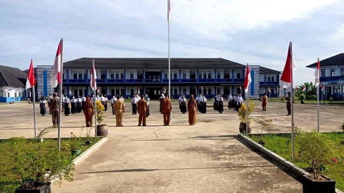 Pelaksanaan PTM terbatas 4 wilayah kecamatan Kabupaten Malinau, Provinsi Kalimantan Utara, beberapa hari lalu.