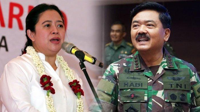 Hadi Tjahjanto Segera Pensiun, Puan Maharani Singgung Panglima TNI Baru, Punya PR Besar di Papua