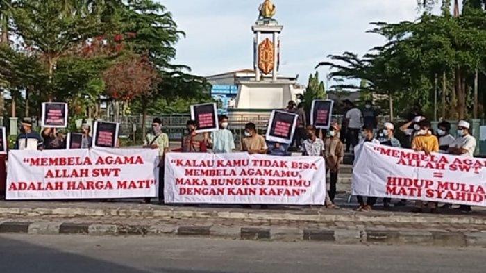 Dugaan Ujaran Kebencian Oleh Oknum DPR RI Dapil Kaltara, Puluhan Masyarakat Nunukan Turun ke Jalan