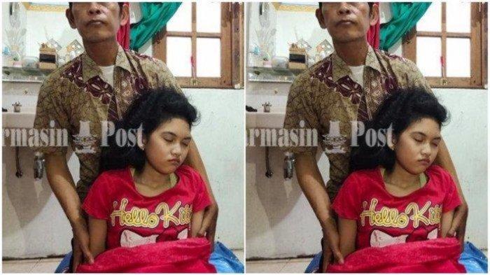 Cerita Putri Tidur Asal Banjarmasin,  Seminggu Terlelap tanpa Bangun, Makan dan BAK pun Sambil Tidur
