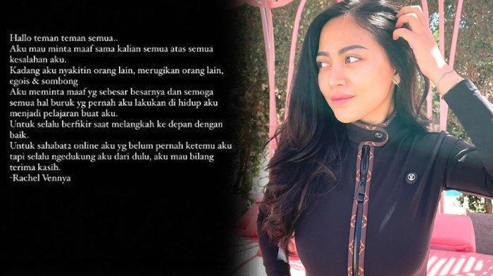 Rachel Vennya Muncul setelah Kabur dari Karantina Libatkan Oknum TNI, Singgung Egois dan Sombong