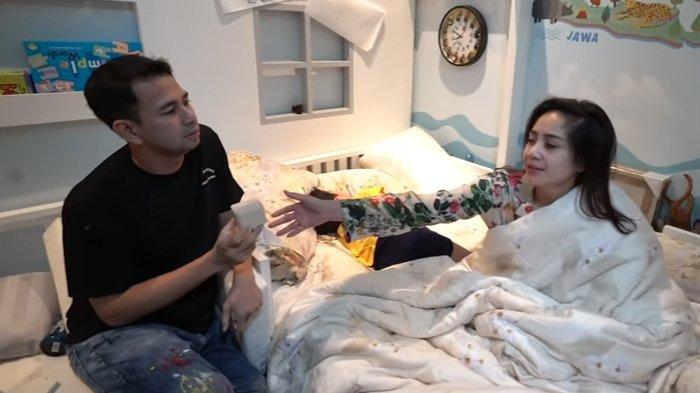Raffi Ahmad berikan kado ulang tahun ke Nagita Slavina. (YouTube Rans Entertainment)