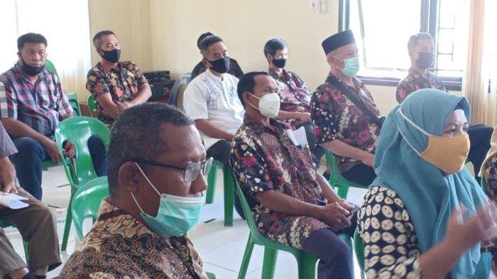 Rapat Koordinasi pembentukan kampung Trengginas di Kecamatan Tarakan Barat. (HO/Polsek Tarakan Barat)