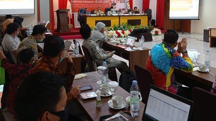 KPU Tetapkan DPT Kaltara 424.221 Wajib Memilih di Pilkada, Tambah 3.970 Orang Dibanding DPS