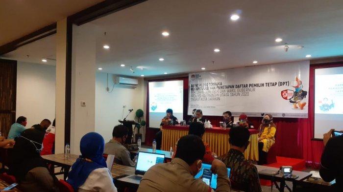 KPU Tarakan Sudah Tetapkan Daftar Pemilih Tetap, Total Pemilih Sebanyak 143.130 Orang