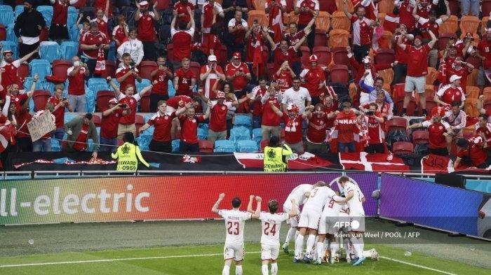 Denmark dan Italia Lolos ke Perempat Final, Tim Dinamit Cetak Rekor Kemenangan Besar Kedua Euro 2020