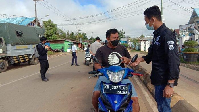 Razia Pajak Kendaraan, UPTB Pengelola Pajak dan Retribusi Daerah KTT Jaring 30 Pengendara
