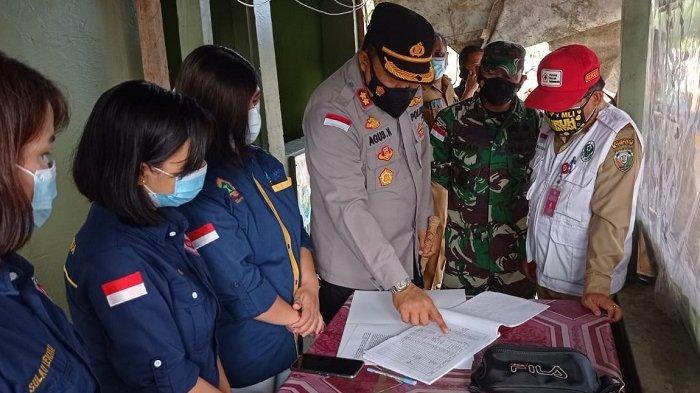 Pintu Masuk Malinau Diperketat, Tambahan 74 Konfirmasi Covid-19, 1 RT di Mentarang Masuk Zona Merah