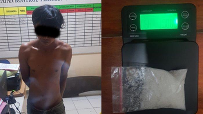 Niat Transaksi Sabu 49 Gram, Pria Asal Nunukan Dibekuk Polsek Sebatik Timur, Sempat Dihadang Polisi