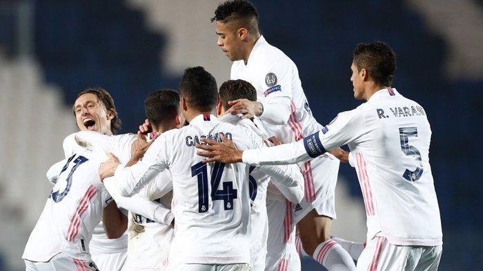 Hasil Liga Champions, Batal Ikut Jejak Barcelona, Real Madrid Curi Gol Penting di Markas Atalanta