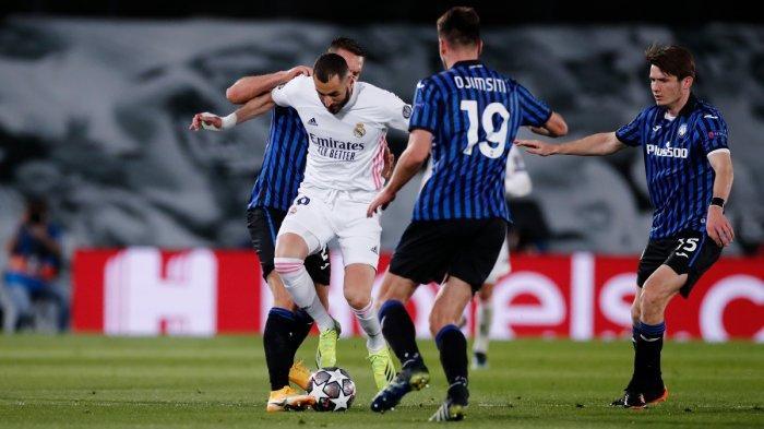 Kalah 3-1, Atalanta Ikuti Jejak Juventus, Real Madrid Melenggang ke Perempat Final Liga Champions