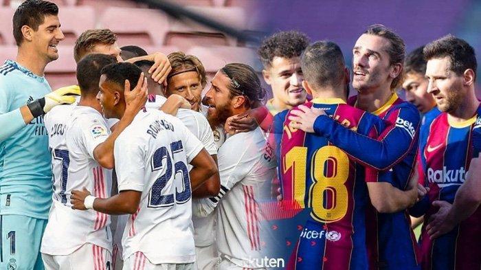 Jadwal Liga Spanyol Sabtu 5 Desember Sevilla vs Real Madrid, Cadiz vs Barcelona Main Dini Hari