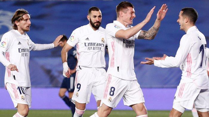 Hasil Liga Spanyol, Tahun Baru yang Baik Bagi Real Madrid, Kudeta Atletico dari Puncak Klasemen