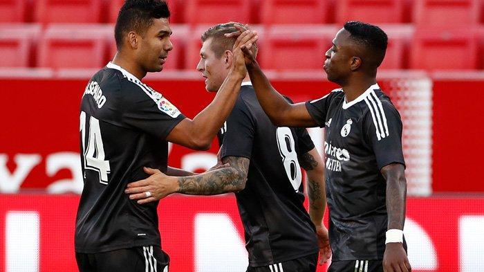 Hasil Liga Spanyol, Gol Tunggal Vinicius Junior, Real Madrid Sukses Curi 3 Poin di Markas Sevilla