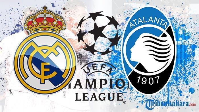 Susunan Pemain Real Madrid vs Atalanta di Liga Champions, Hazard Absen Lagi, Benzema Jadi Tumpuan