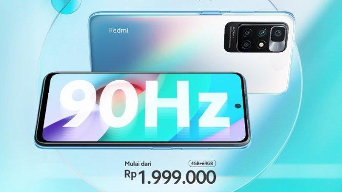Dijual Perdana Hari Ini, Simak Harga Redmi 10 Ponsel Entry Level dengan Chipset MediaTek Helio G88