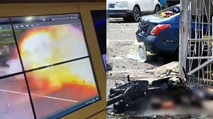 TERUNGKAP! Dipakai Pelaku Bom Bunuh Diri Gereja Makassar, Motor Honorer DPRD Sulsel Milik Wanita Ini