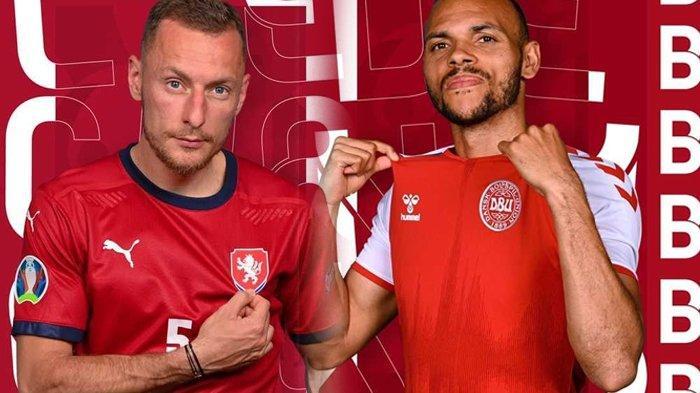 Head to Head Rep Ceko vs Denmark Jelang Perempat Final Euro 2020, Tim Dinamit Gigit Jari
