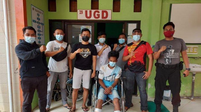 Residivis pencurian dengan pemberatan (Curat) di Sebatik Utara, Kabupaten Nunukan, kembali ditangkap setelah tiga bulan bebas dari penjara, Senin (01/03/2021). (HO/ Kapolsek Sebatik Timur)